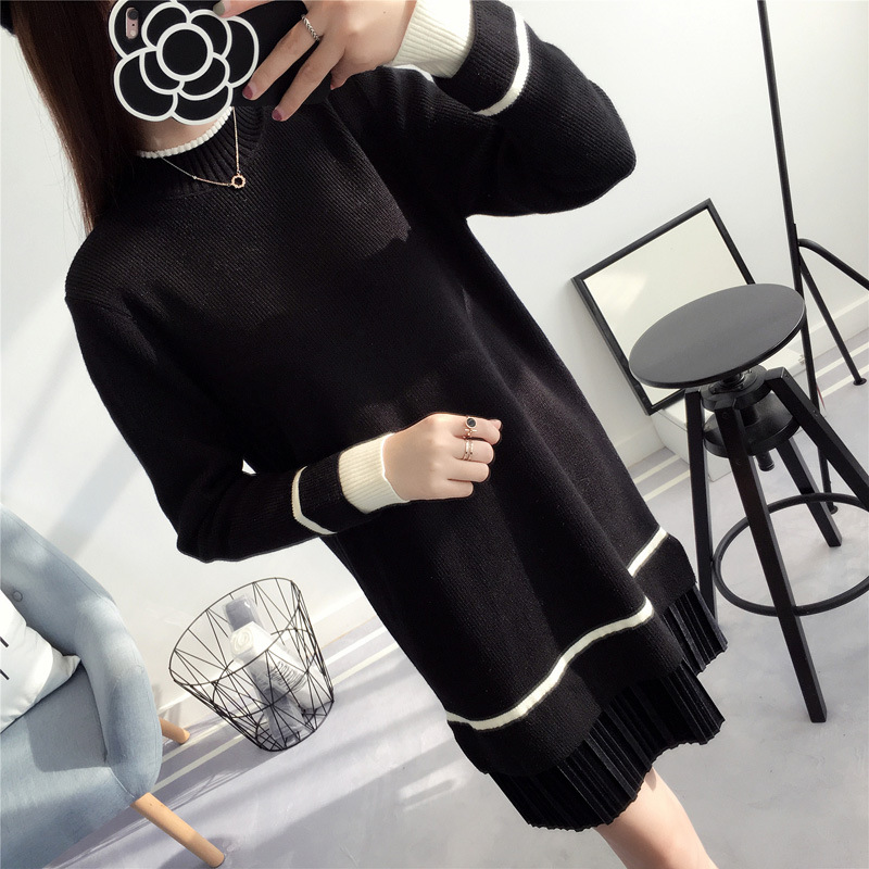 Autumn Winter Long Sleeve Solid Clothing