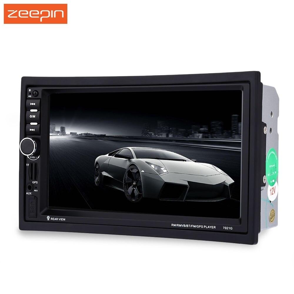 Dédouanement 7 pouces 2 Din autoradio système Wince voiture Audio stéréo Auto Audio Bluetooth 1080 P FM Radio caméra arrière télécommande