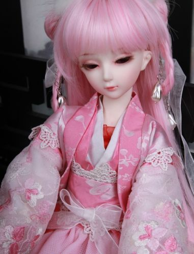 [wamami] OD 1/4 BJD Dollfie Girl Set* FREE FACE UP//EYES/~Fen Ying 1 4 bjd dollfie girl doll parts single head include make up shang nai in stock