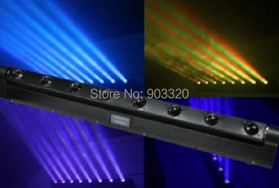 Hot 4in1 RGBW Cree LED Moving Head Beam Bar Light LED Eight Beam Light DMX Stage Light LED Pixel Moving Head Beam