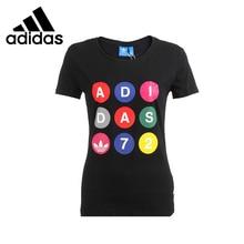 Original Adidas Originals Women's knitted T-shirts  Sportswear