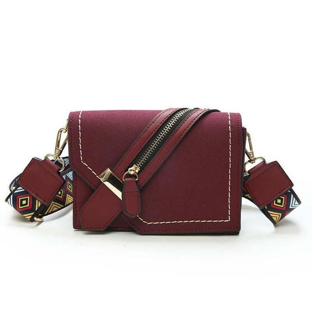 Femme'S sac de messager,Sac à main sauvage simple Lingge petit paquet carré Sacs bandoulière pour femmes petites-A