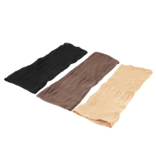 2PCS Elastic Unisex Stocking Wig Liner Cap Snood Nylon Stretch Mesh Beige/Black/Brown Wig Caps For Making Wigs L04708