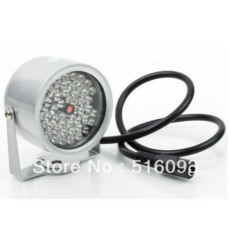New 48 LED Illuminator IR Infrared Night Vision Light Security Lamp For CCTV Camera Free Shipping