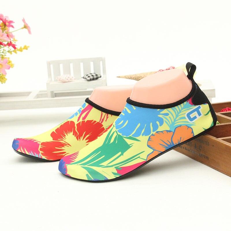 yaz daireler unisex plaj sörf ayakkabılar nefes kaymaz en kaliteli açık ayakkabı aqua plaj yüzmek sörf egzersiz