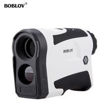 BOBLOV LF600G Golf Laser Distance Meter Range finder 6X hunting Scope RangeFinder Flag locking Speed