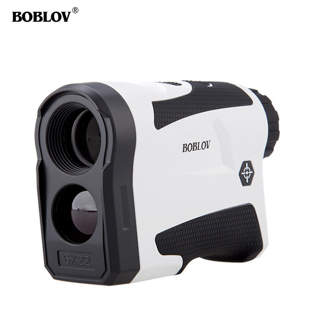 BOBLOV LF600G JOLT Reminder 600M Golf Laser Range finder 6X hunting Scope RangeFinder Distance Flag locking Speed Meter