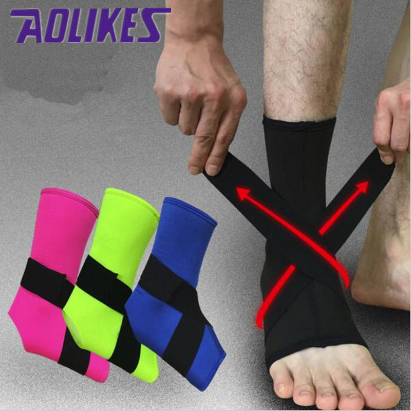 1PCS Ankle Sprain Ankle Protection For Basketball 2017 New Sports Football Running Breat ...