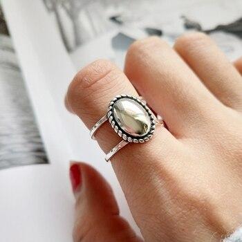 0dd118bb290e INZATT Real 925 plata esterlina de doble capa elegante colgante geométrico  collar de joyería fina para las mujeres boda fiesta Bijoux