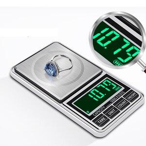 Мини точность 0,01 г/0,1 г Карманные Цифровые весы для золота Bijoux Ювелирные изделия Вес Баланс грамм электронные весы