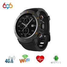 A4 Freqüência Cardíaca SmartWatch Relógio Inteligente GPS Bluetooth Wi-fi com Câmera 7.1MTK IP67 Relógio À Prova D' Água Android 6739 Smartwatch