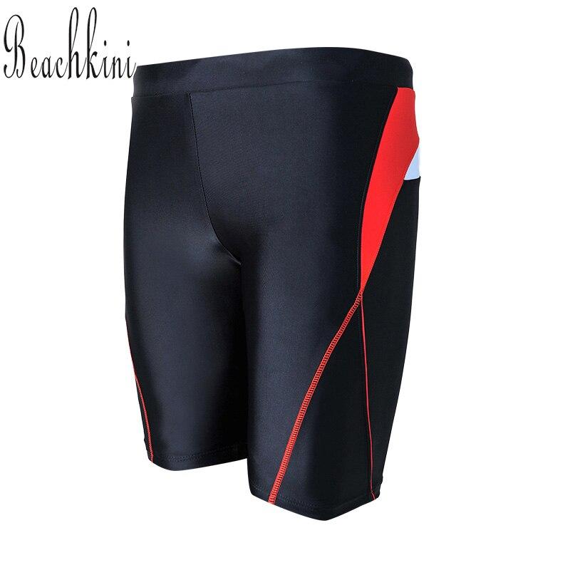 Tablero Boyshorts adultos hombres troncos trajes de baño bragas largas deporte natación shorts natación traje de baño