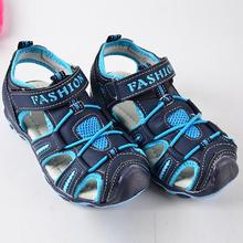Hot Children Shoes Boys Summer Kids Sandals Outdoor Rubber Boys Sandals Boy Shoes Baby Soft Bottom Beach Shoes Size 3-10-13years skhek boys sandal 2019 summer new pvc children sandals soft bottom sandals baby casual wrapped beach shoes 10 year old size
