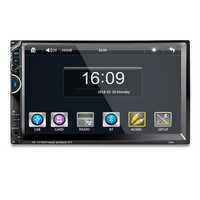 7001 7 Inches Double DIN Bluetooth Car MP5 Player Without Camera Support Hands Free Calls With