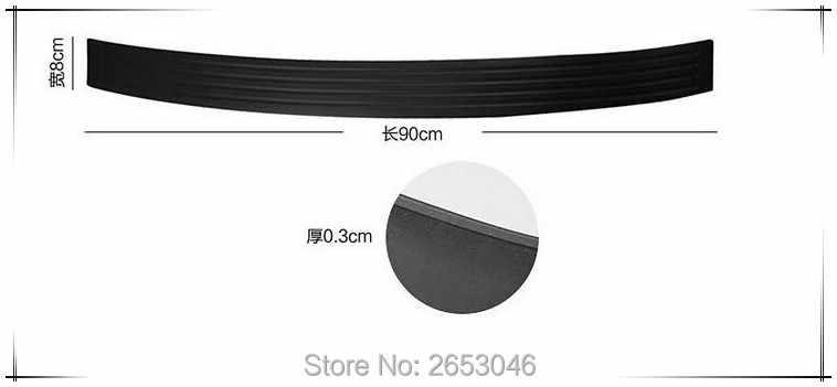 Auto Styling Instaplijsten Guard Achterbumper Protector Strip Voor renault megane 2 Lada mercedes w203 hyundai solaris nissan qashqai
