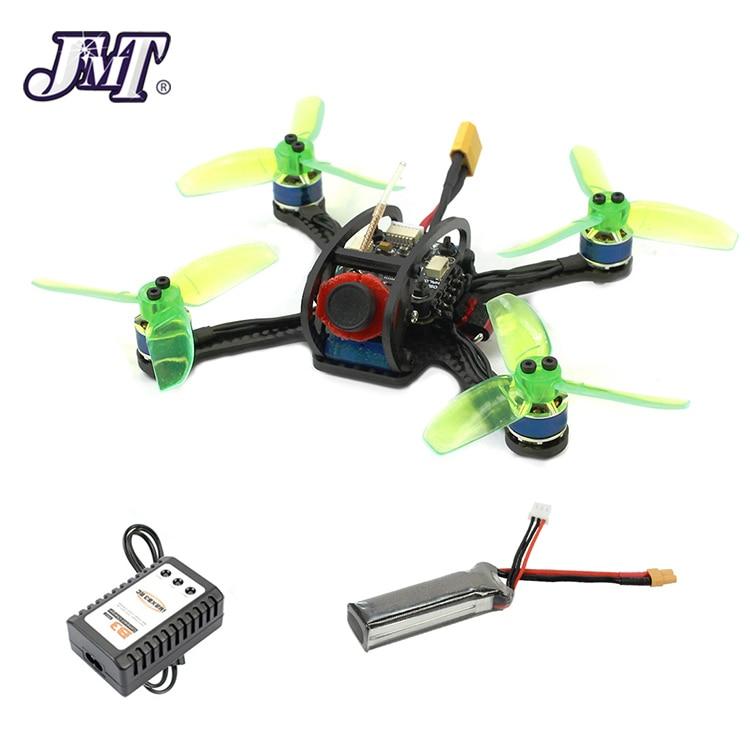 120mm Mini F3 OSD 2S RC FPV Racing Drone Quadcopter 700TVL Camera VTX Goggle 10A ESC 7800KV Brushless Motor 2.4G 6ch BNF/RTF Kit