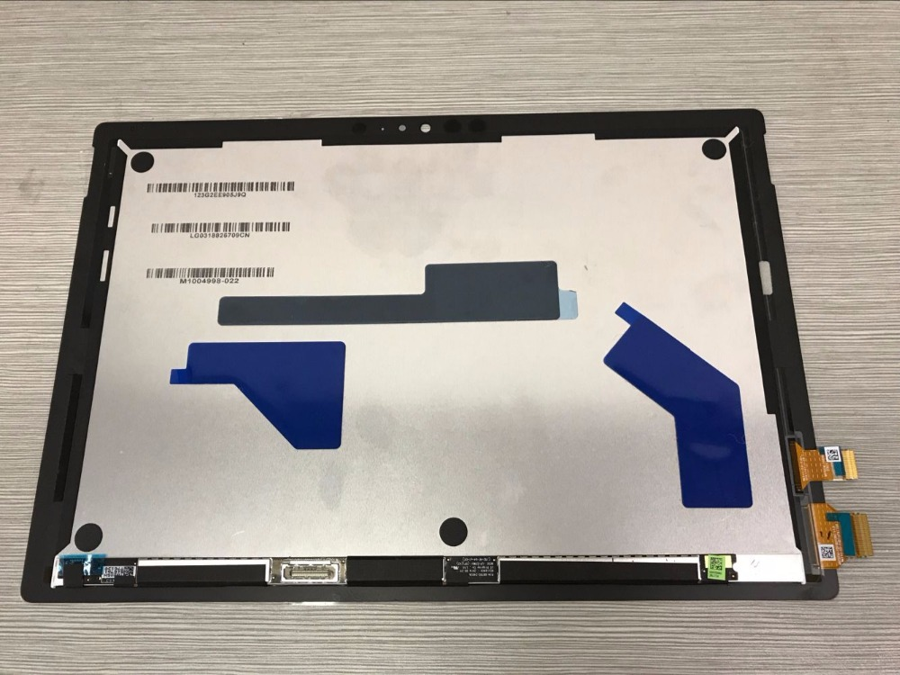 For Microsoft new surface pro LP123WQ1(SP)(A2) lcd display touch screen  glass sensor digitizer tablet assembly 1796 new original for microsoft surface pro 1514 pro 2 1601 ltl106hl01 001 lcd display touch screen digitizer lens free