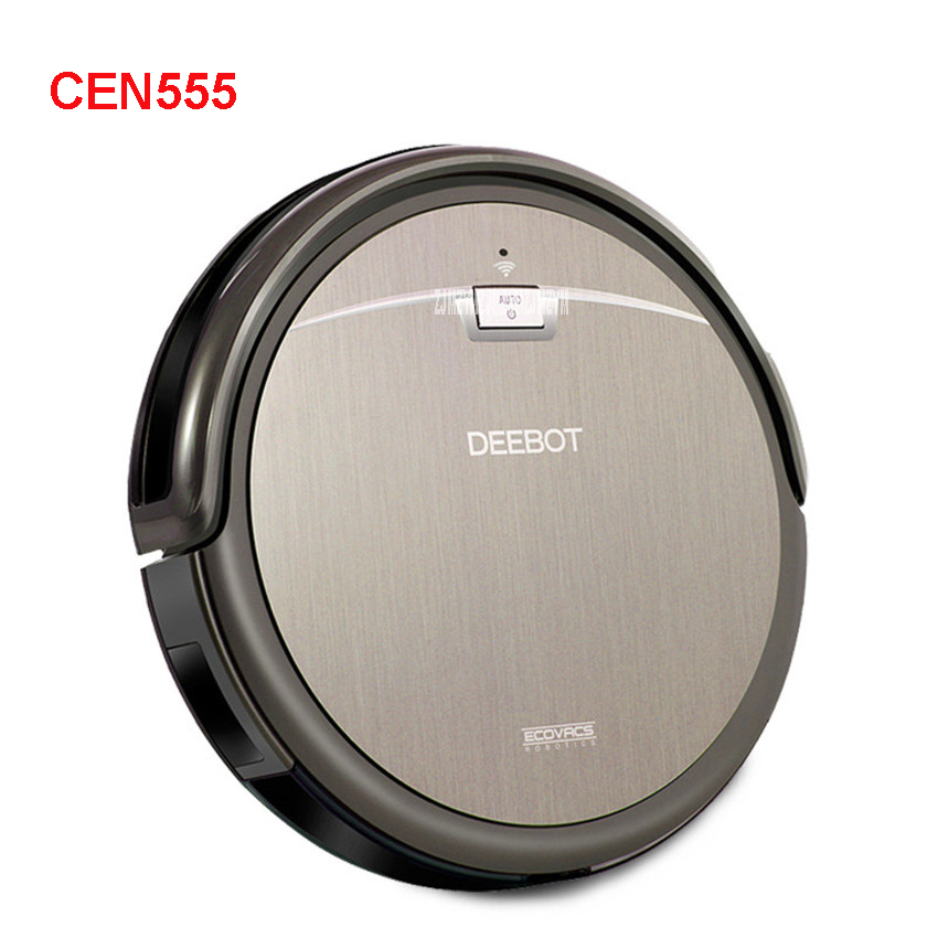 CEN555 100-240V Mini Robot Vacuum Cleaner for Home Automatic Sweeping Dust Sterilize Smart Planned Mobile App 0.45L Dust box jiaweishi robot vacuum cleaner for home automatic sweeping dust sterilize smart