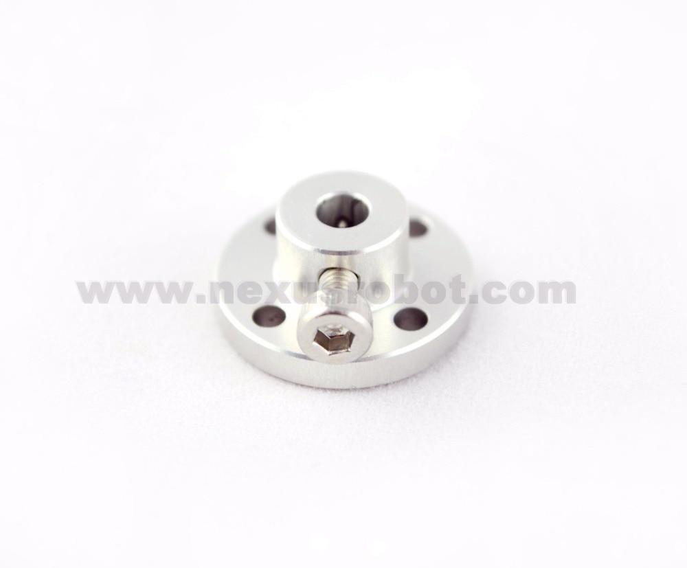 Cubo de alumínio de 4 mm para roda de alumínio de Omni de 48 mm 18023