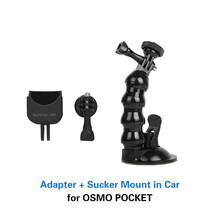 1/4 Adapter Multifunctional Expanding Switch Connection with Suction Cup Holder mount for DJI OSMO POCKET gimbal Accessories