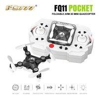 F18357 60 FQ777 FQ11 With Foldable Arm 3D Mini 2 4G 4CH Headless Mode Portable RC