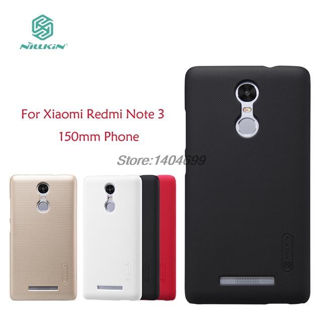Xiaomi Redmi Note 3 Case Nillkin Frosted Shield Back Cover Matte Case For Xiaomi Redmi Note 3 Pro Prime Phone length 150mm