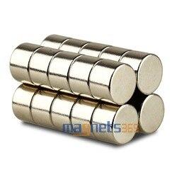 20 stücke Großhandel N35 Neodym Magneten 12x8mm Starke Runde Magnet Scheibe