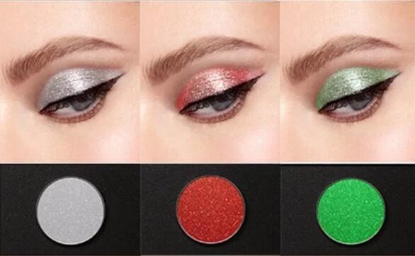 KYE1-KYE10 VERONNI Belluna 24-color lantejoulas glitter olho sombra de olho placa sombra de olho sombra em pó de maquiagem à prova d' água
