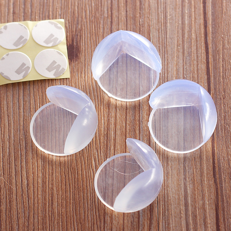 10pcs Baby Safety Edge Corner Children Guards Spherical Collision Angle of Soft PVC Clear Corner Protector