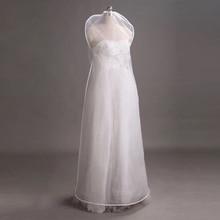 투명 양면 메쉬 여성 의류 스토리지 가방 수호자 커버 웨딩 드레스 가운 의류 ac022 방진 케이스
