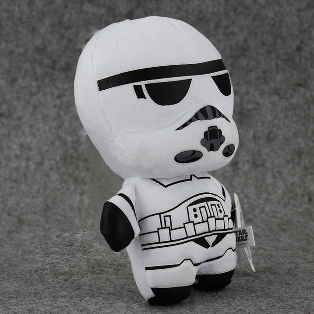 Star wars 18cm Plush  BB8 & R2D2 & Stormtrooper & Darth Vader