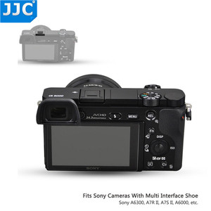 Image 5 - Copriscarpe per fotocamera calda per Sony a7C a7S III ZV1 A7R IV A7R II A77 II A9 II A6100 A6600 A6300 A6000 RX10 II sostituisce FA SHC1M