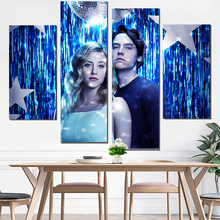 canvas prints riverdale poster painting gaming oil photo print camera instant picture on the wall