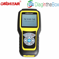 Odometer Adjustment OBDSTAR X300M and OBDII Support For Benz Mileage Correction Tool X300 M Better Than Tacho Pro Digiprog 3