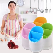 2017 Top Sale Home Cutlery Drainer Strainer Organizer Dryer Storage Fork Spoon Plastic Cutlery Holder Kitchen Accessories