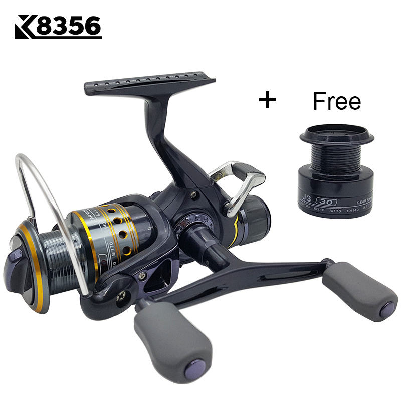 K8356 5 5 1 9 1BB Dual Brake Saltwater Fishing Reel Metal Spool Sea Boat Spinning