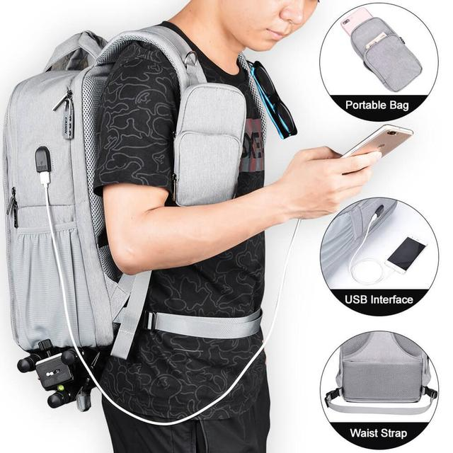 Camera bag waterproof backpack shoulder Laptop digital camera & lens photograph luggage bags case for Canon Nikon