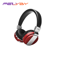 FELYBY Stereo Earphones Bluetooth Headphone Music Headset FM with Mic for Mobile Tablet