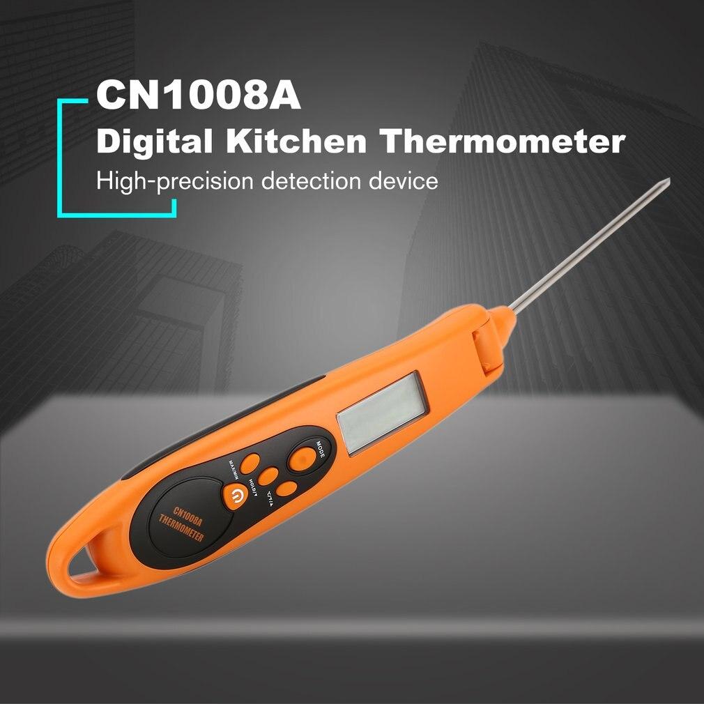 CN1008A Digital Küche Thermometer Für BBQ Elektronische Kochen Lebensmittel Sonde Fleisch Wasser Milch Fleisch Thermometer Küche Werkzeuge