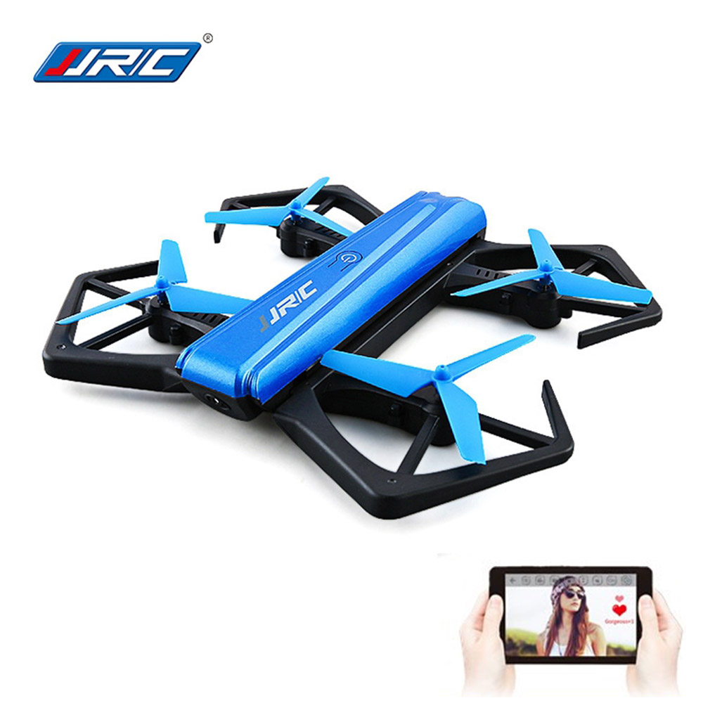 JJRC H43WH Mini Foldable Selfie Drone With WiFi FPV 720P HD Camera RC Drones Remote Control Helicopter Quadcopter Toys VS H37 2017 new jjrc h37 mini selfie rc drones with hd camera elfie pocket gyro quadcopter wifi phone control fpv helicopter toys gift page 1