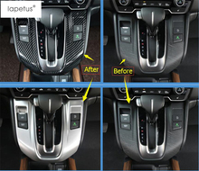 цены ABS ! Accessories For Honda CR-V CRV 2017 2018 Stalls Gearshift Box Transmission Shift Gear Panel Molding Cover Kit Trim 1 Piece