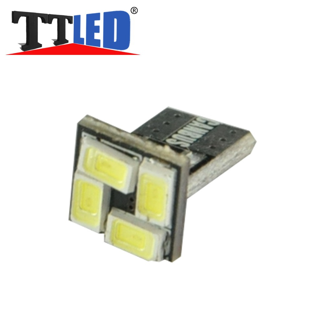 TRICOLOUR 100x Canbus T10 158 168 194 w5w 5630 5730 4smd LED Error Free Car Replacement Light Lamp Bulbs 12v#TB100 - TT Co.,Ltd store