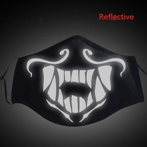 Image 5 - Игра LOL KDA Akali Masque маскарадный реквизит S8 маска ночные светильники маски для лица женские и мужские противостоят холодному ветру аксессуары