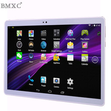 Envío libre 10 Pulgadas Tablet PC 3G llamada de teléfono Octa Core 4 GB RAM 32 GB ROM Dual SIM Android GPS de la tableta 1280*800 IPS Tablets 10.1″