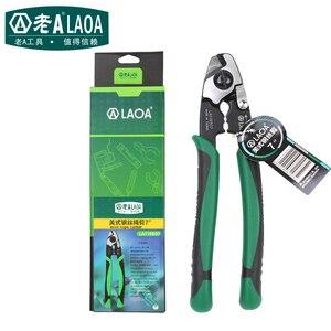 Image 5 - 7 дюймовые ножницы для резки проволочной веревки LAOA, многофункциональные американские ножницы для резки проволоки, модели le116507
