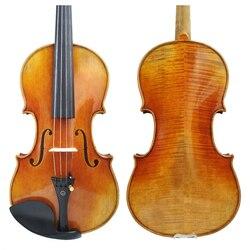 Copia Gratuita di trasporto di Antonio Stradivari Cremonese 1716 Modello di Violino FPVN01 con Tela di Canapa Caso e Brasile Arco