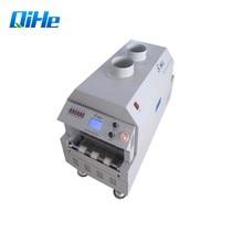 Qihe мини настольная печь с оплавлением T961 Инфракрасная паяльная печь с 6 зонами температуры паяльная машина