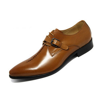 Dropwow GRIMENTIN Fashion genuine leather men shoes dress black ... 327b0ea82342