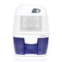 LAGUTE 500 ml Silencioso Secador de Ar Portátil Mini Desumidificador Umidade Absorvente de Secagem Elétrica para Sua Casa ou Escritório Cozinha Banheiro