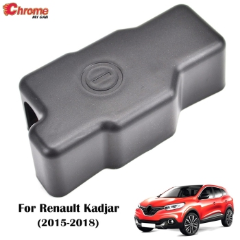 For Renault Kadjar 2015 2016 2017 2018 Engine Battery Anode Negative Electrode Pole Terminal Protective Cover Trim Car Styling image